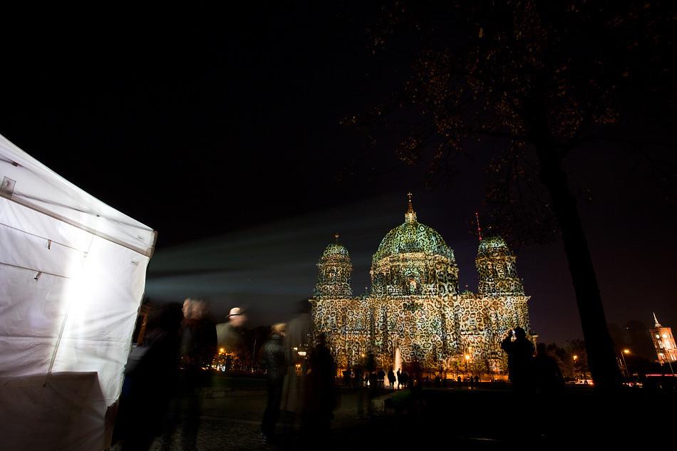 絢麗柏林燈光節