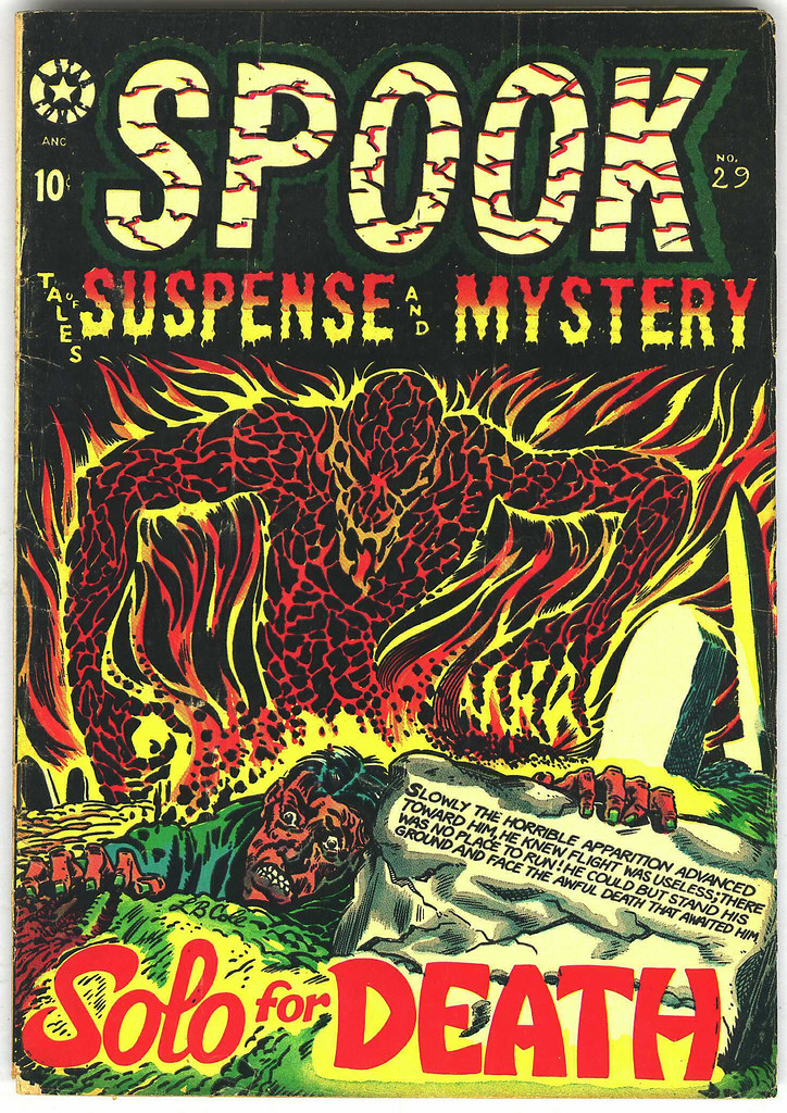 Spook #29 (Star Publications, 1954)