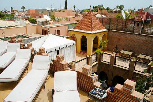 Terrasses de Riads à Marrakech
