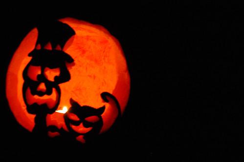 Halloween gets spooky
