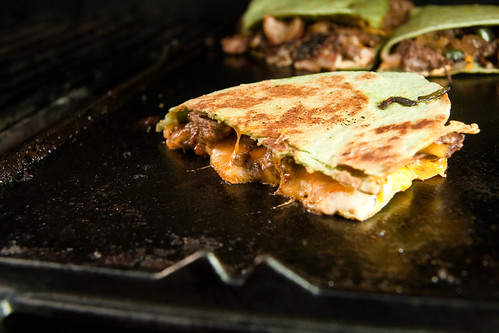 Cheese & Tenderloin Quesadilla