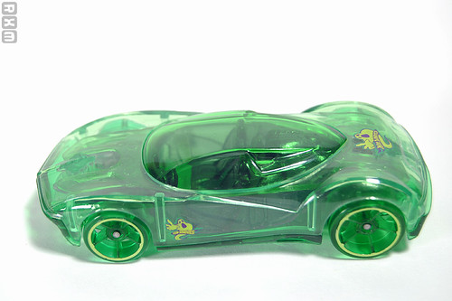 Mattel Hot Wheels - Phantasm (2010 Scary Cars 5-pack, Target excl., 9/10)