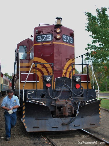 Conway Scenic Railroad Engine #573