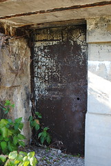 Fort Door (trottaho) Tags: beach newjersey fort sunny abandon sandyhook passageway militarystation