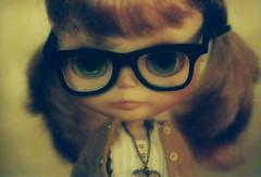 (johnathan_roberts) Tags: nerd film glasses sophie 55mm cs blythe custom canonae1program takara teleconverter f12 rbl cassiopeiaspice lomographyredscalexr