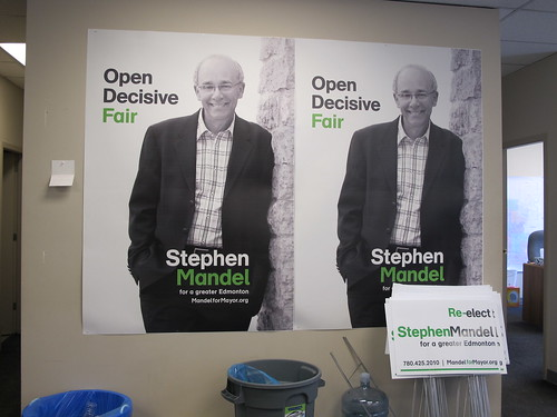 Stephen Mandel Campaign Office