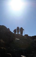 Ben Nevis (106/365) (Charlotte Dutch) Tags: sky sun mountain climb scotland bennevis cym 365 walkers climbers