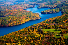 New Jersey (noamgalai) Tags: trees lake tree fall water plane river newjersey autum nj aerial foliage jersey sitelandscapes