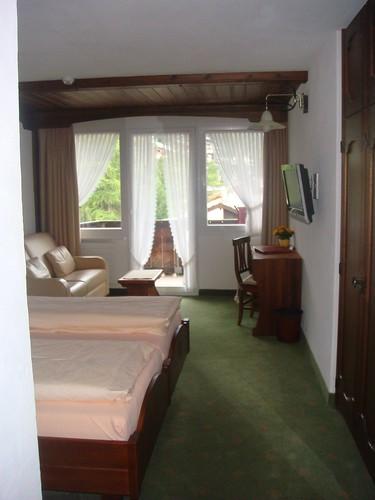 Quarto do Hotel Garni Antika