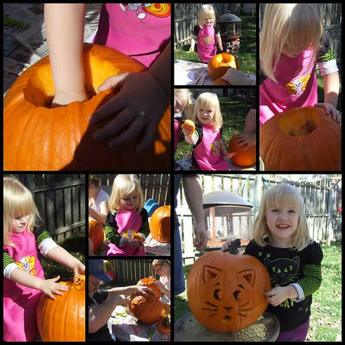 Bree pumpking carving