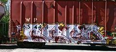 IMG_5167 (mightyquinninwky) Tags: railroad graffiti tag graf tracks railway tags tagged railcar rails boxcar graff graphiti freight trainart fr8 railart boxcarart freightart taggedboxcar paintedboxcar paintedrailcar taggedrailcar