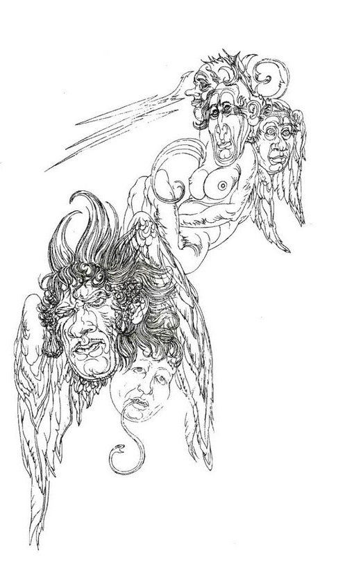 Austin Osman Spare, drawing 9