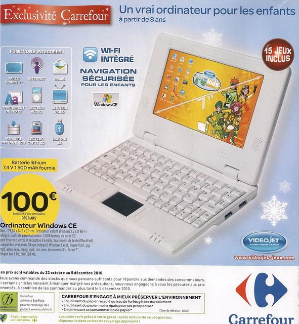 bace6894ac Carrefour promet un ordinateur pour enfant à 100€, est-ce que cela ...