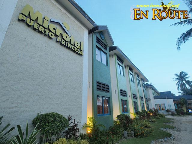 Microtel Hotel Facade