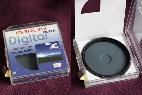 Polarizing Filter / Filtro Polarizador