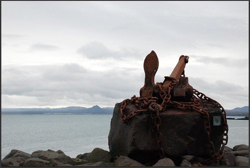 Anchor Monument in Keflavik