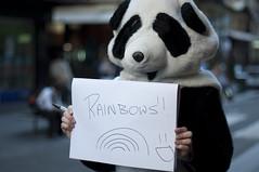 3/30 (Brendan_Timmons) Tags: street portrait nikon panda strangers melbourne suit rainbows whatmakesyouhappy 50mmf14g d5000