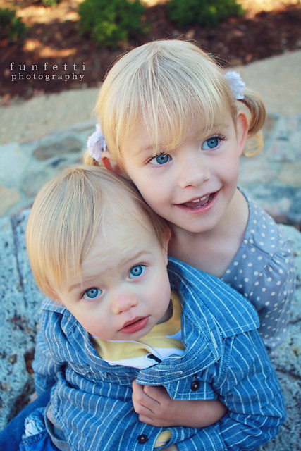 blue eyed kiddies