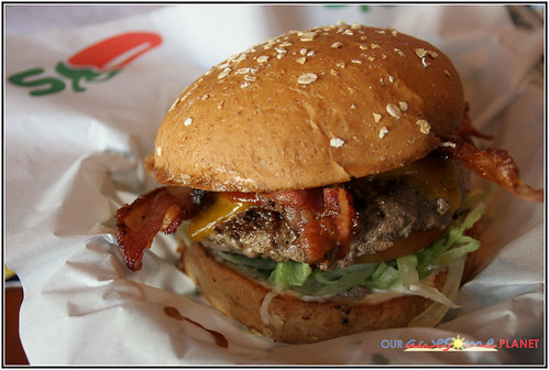 Chili's BBQ Ranch Burger (P350)