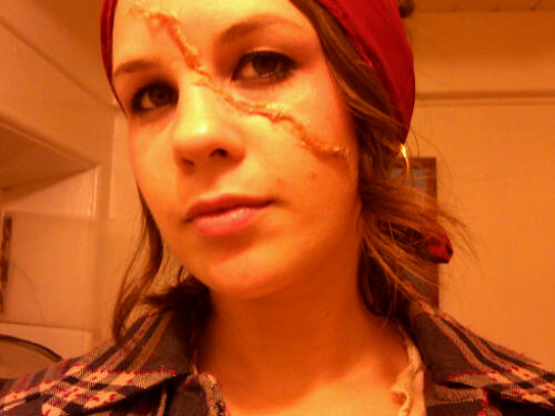 pirate makeup. Pirate makeup