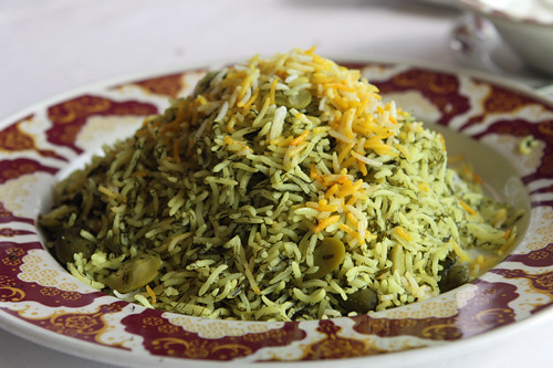 herbed persian rice