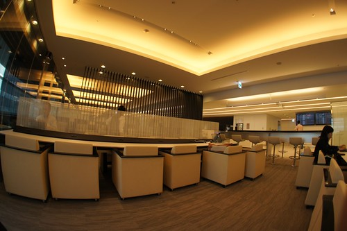 ANA lounge at HND