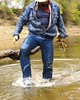 35 WS Awesome jeans sucking tight on legs & boots (Wrangswet) Tags: swimming canal wranglers cowboyhat riverhike swimmingfullyclothed wetjeans guysinwetjeans wetladz wetwranglers wetcowboy wetcowboys wetcowboyboots wetwranglerjeans meninwetjeans swimminginboots