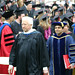 Author Robert McCullough as part of procession at Commencement