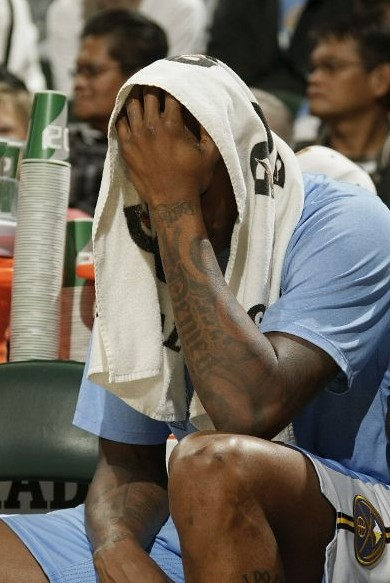 nuggets facepalm