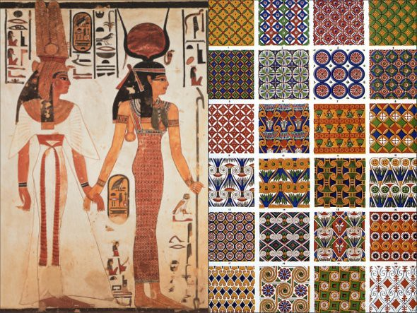 Ancient Egyptian Interior Decor : Egyptain Art