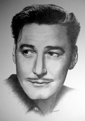 Errol Flynn (pbradyart) Tags: portrait bw art pencil star sketch artwork drawing pencildrawing errolflynn drawingpencil filmstardrawing errolflynndrawing errolflynnportrait