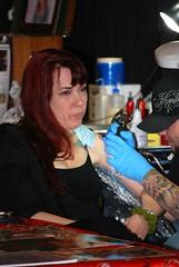 ssg sn ink 07 (Yogurt75) Tags: tattoo pennsylvania crispy harleydavidson motorcycle sideshow wilkesbarre patrickobrian jamestaylor woodlandshotel docwilson magicbrian crispyfamilycircus sideshowgathering inkinthevalley stevehyde harleynewman melanieswank kimkoosa