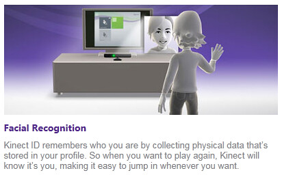 Kinect image recognition