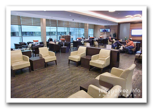 Oryx Lounge, Doha International Airport, Qatar