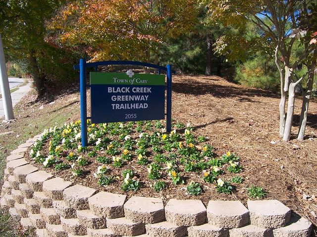 Black Creek Greenway Trailhead