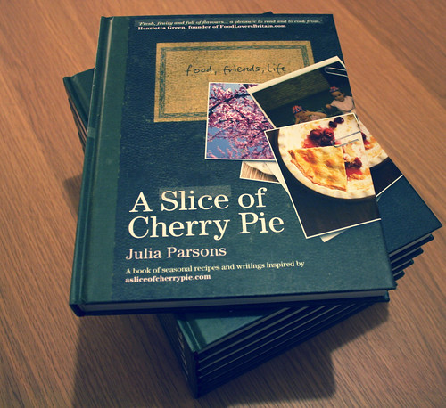 Cherry Pie Book Pile