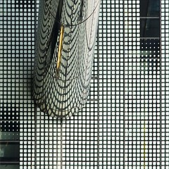 Ana Formosa (gherm) Tags: distortion paris france reflection building glass metal canon squares reflet cylinder faade immeuble verre distorsion anamorphosis anamorphose carrs rflexion cylindre gherm formatcarr eos40d gettyartistpicks 1003270685
