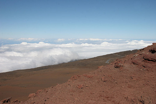 View towards Central Maui from Haleakala Summit