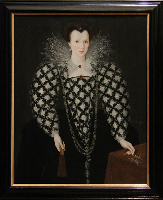 Portrait of Mary Rogers, Lady Harington,  Marcus Gheeraerts II, 1592