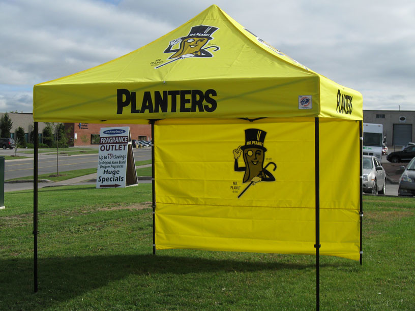 10x10 Planters Shelter