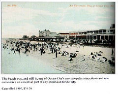 GFOC Beach pm1910 (kschwarz20) Tags: history beach md maryland boardwalk 1910 oceancity kts ocmd
