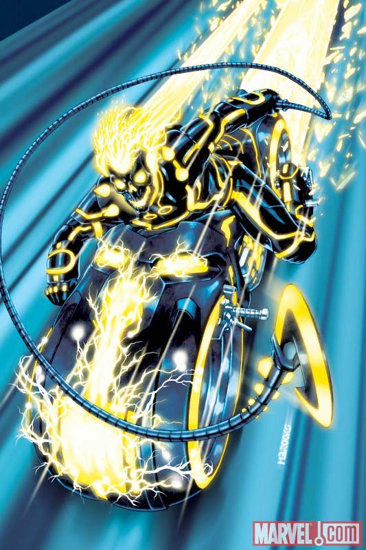 Ghost Rider - Tron