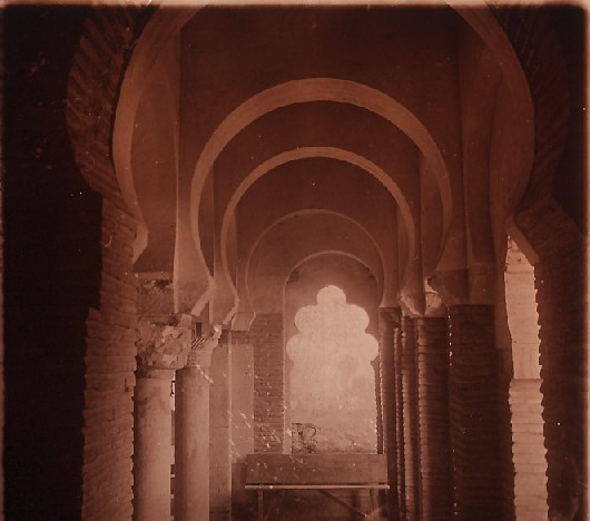 Mezquita del Cristo de la Luz en los años 20. Fotografía de Ángel del Campo Cerdán