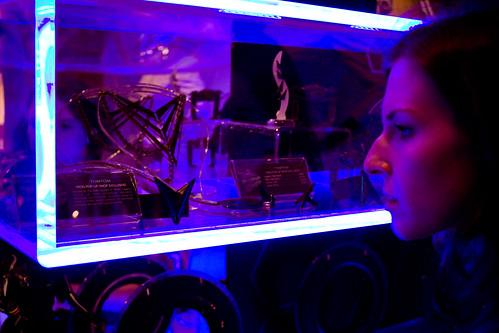 Tron light shelf