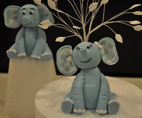 Fondant Elephants