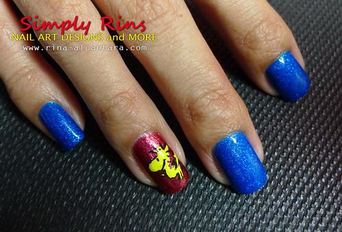 Nail Art- Snoopy 02