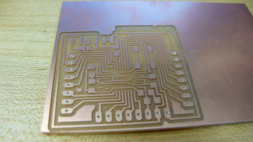 Fabduino Board Milled