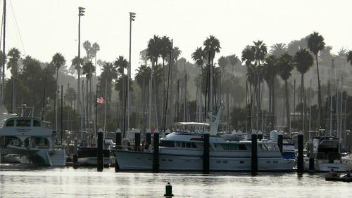 le port de Santa Barbara