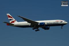 G-VIIX - 29966 - British Airways - Boeing 777-236ER - Heathrow - 100617 - Steven Gray - IMG_4520