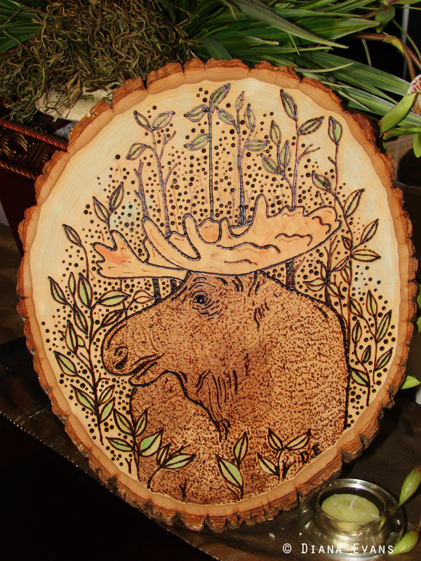 Cottage Art Moose